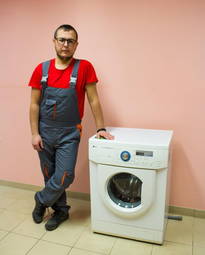 Фото ремонт стиральных машин лж